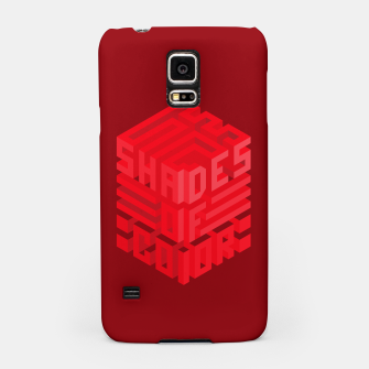 Thumbnail image of Shades ISO Red Samsung Case, Live Heroes