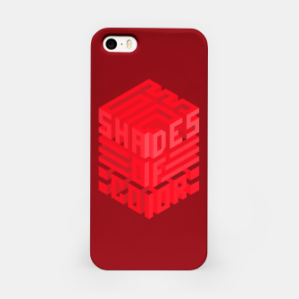 Thumbnail image of Shades ISO Red iPhone Case, Live Heroes