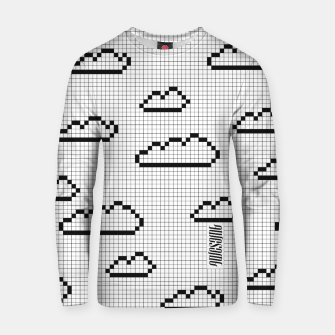 Thumbnail image of We Dream in Pixels Cotton sweater, Live Heroes