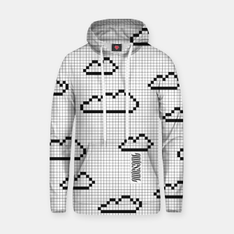 Thumbnail image of We Dream in Pixels Cotton hoodie, Live Heroes
