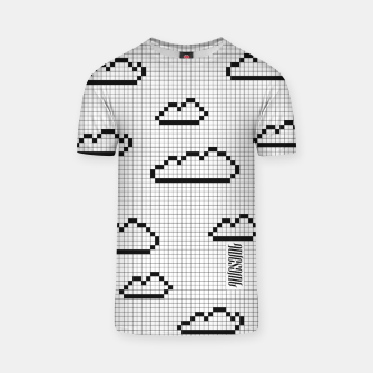 Thumbnail image of We Dream in Pixels T-shirt, Live Heroes