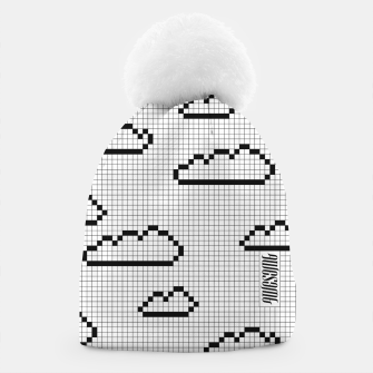Thumbnail image of We Dream in Pixels Beanie, Live Heroes
