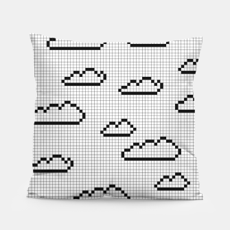 Thumbnail image of We Dream in Pixels Pillow, Live Heroes