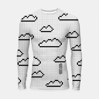 Thumbnail image of We Dream in Pixels Longsleeve rashguard , Live Heroes