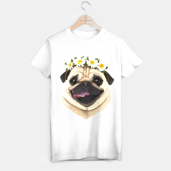 Thumbnail image of Pug T-shirt regular, Live Heroes