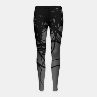 Dark Love Girl's leggings thumbnail image