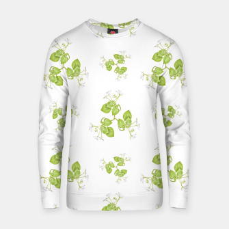 Thumbnail image of Photographic Floral Decorative Pattern Cotton sweater, Live Heroes