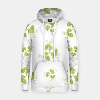 Thumbnail image of Photographic Floral Decorative Pattern Cotton hoodie, Live Heroes