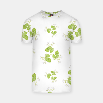 Thumbnail image of Photographic Floral Decorative Pattern T-shirt, Live Heroes