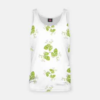 Thumbnail image of Photographic Floral Decorative Pattern Tank Top, Live Heroes