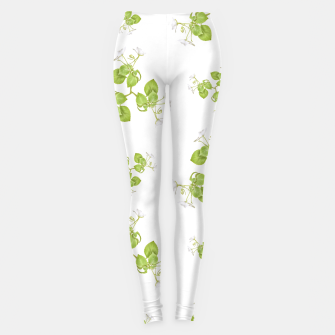 Thumbnail image of Photographic Floral Decorative Pattern Leggings, Live Heroes