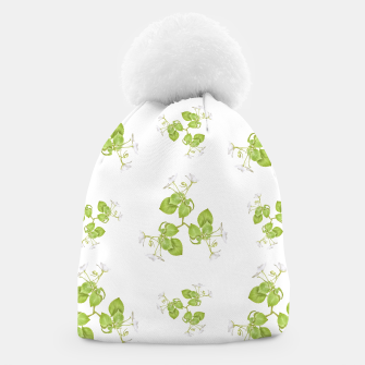 Thumbnail image of Photographic Floral Decorative Pattern Beanie, Live Heroes
