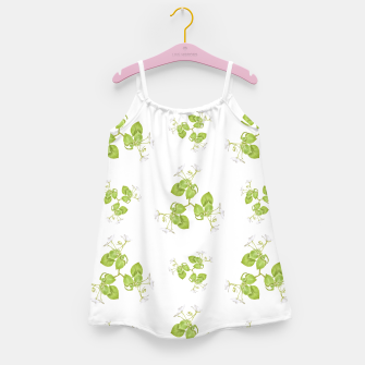 Thumbnail image of Photographic Floral Decorative Pattern Girl's dress, Live Heroes