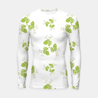 Thumbnail image of Photographic Floral Decorative Pattern Longsleeve rashguard , Live Heroes