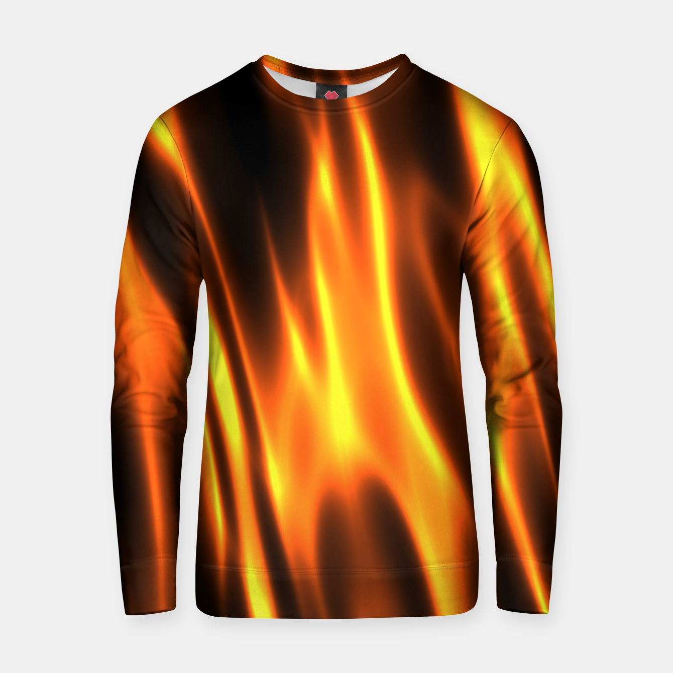 Foto Hot Fire Flames Cotton sweater - Live Heroes