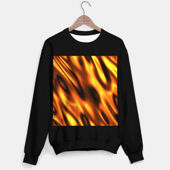 Thumbnail image of Fire Flame Blaze Hot Sweater regular, Live Heroes