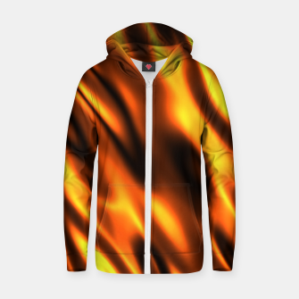 Thumbnail image of Fire Flame Blaze Hot Cotton zip up hoodie, Live Heroes