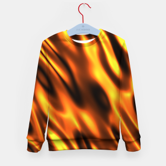 Thumbnail image of Fire Flame Blaze Hot Kid's sweater, Live Heroes