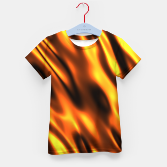 Thumbnail image of Fire Flame Blaze Hot Kid's t-shirt, Live Heroes