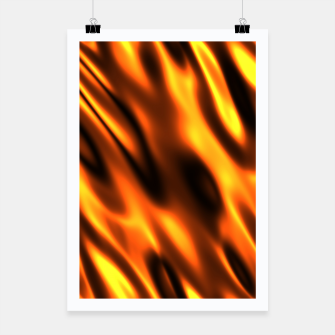 Thumbnail image of Fire Flame Blaze Hot Poster, Live Heroes