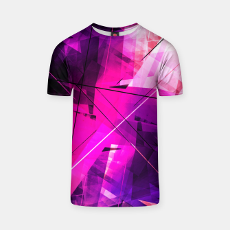 Thumbnail image of Rebellious Reflections - Geometric Abstract Art T-shirt, Live Heroes