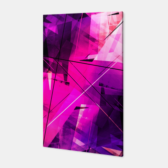 Thumbnail image of Rebellious Reflections - Geometric Abstract Art Canvas, Live Heroes