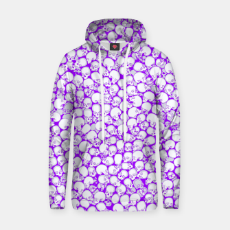 Thumbnail image of Gothic Crowd ULTRA VIOLET Cotton hoodie, Live Heroes