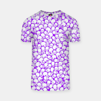 Thumbnail image of Gothic Crowd ULTRA VIOLET T-shirt, Live Heroes