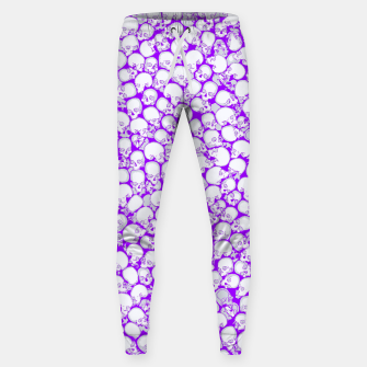 Thumbnail image of Gothic Crowd ULTRA VIOLET Cotton sweatpants, Live Heroes