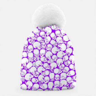 Thumbnail image of Gothic Crowd ULTRA VIOLET Beanie, Live Heroes