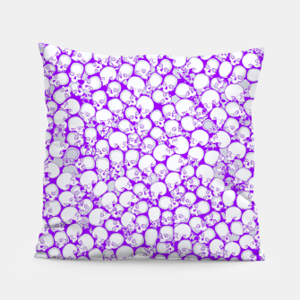 Thumbnail image of Gothic Crowd ULTRA VIOLET Pillow, Live Heroes