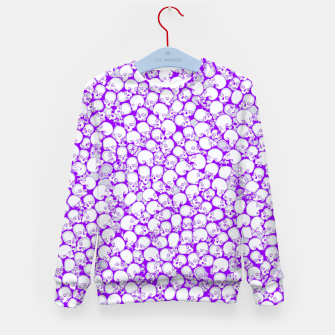 Thumbnail image of Gothic Crowd ULTRA VIOLET Kid's sweater, Live Heroes