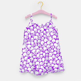Thumbnail image of Gothic Crowd ULTRA VIOLET Girl's dress, Live Heroes