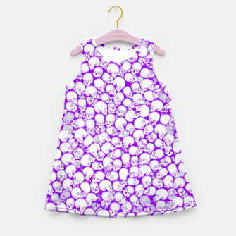 Thumbnail image of Gothic Crowd ULTRA VIOLET Girl's summer dress, Live Heroes