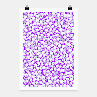 Thumbnail image of Gothic Crowd ULTRA VIOLET Poster, Live Heroes