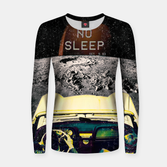 Imagen en miniatura de No Sleep Woman cotton sweater, Live Heroes