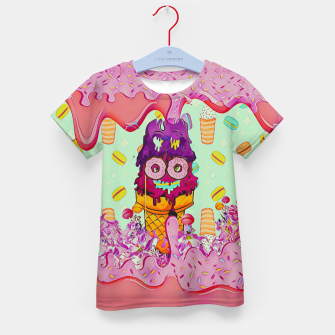 Thumbnail image of Ice Cream Kid's t-shirt, Live Heroes