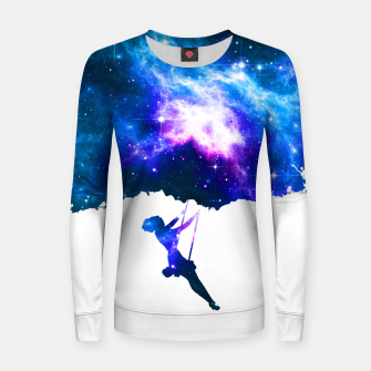 Miniatur Swing in the Galaxy Woman cotton sweater, Live Heroes