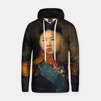 Thumbnail image of Kim Jong-un General Cotton hoodie, Live Heroes