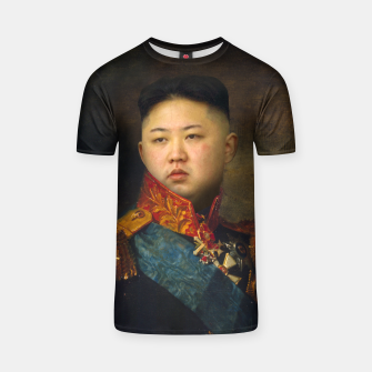 Thumbnail image of Kim Jong-un General T-shirt, Live Heroes