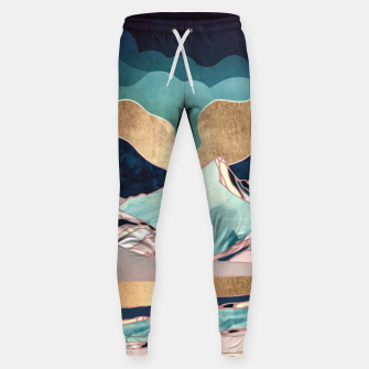Thumbnail image of Indigo Spring Cotton sweatpants, Live Heroes