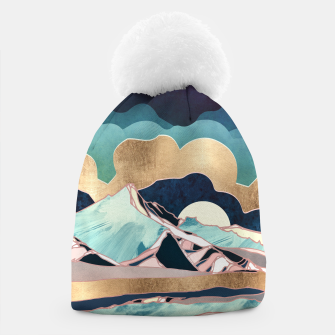 Thumbnail image of Indigo Spring Beanie, Live Heroes