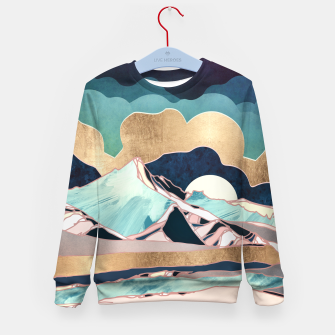 Thumbnail image of Indigo Spring Kid's sweater, Live Heroes