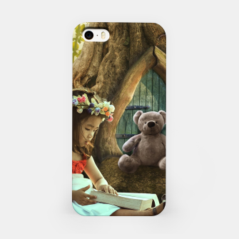 Thumbnail image of The Teddy Bear - Fantasy Fairy Tales iPhone Case, Live Heroes