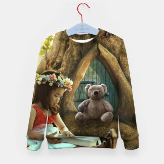 Thumbnail image of The Teddy Bear - Fantasy Fairy Tales Kid's sweater, Live Heroes
