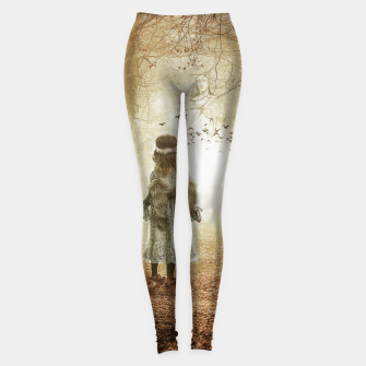 Thumbnail image of The Little Angel - Fantasy Fairy Tales Leggings, Live Heroes