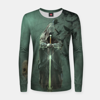 Thumbnail image of Creatures of the Relm  - Fantasy Fairy Tales Woman cotton sweater, Live Heroes