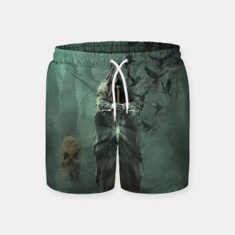Thumbnail image of Creatures of the Relm  - Fantasy Fairy Tales Swim Shorts, Live Heroes