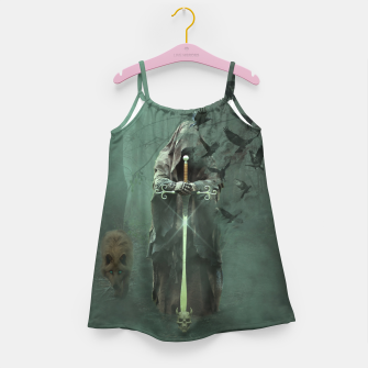 Thumbnail image of Creatures of the Relm  - Fantasy Fairy Tales Girl's dress, Live Heroes