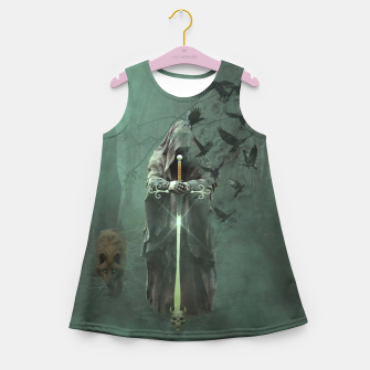 Thumbnail image of Creatures of the Relm  - Fantasy Fairy Tales Girl's summer dress, Live Heroes